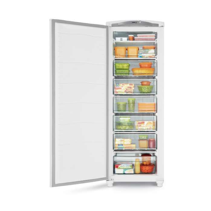 Freezer vertical branco CVU30