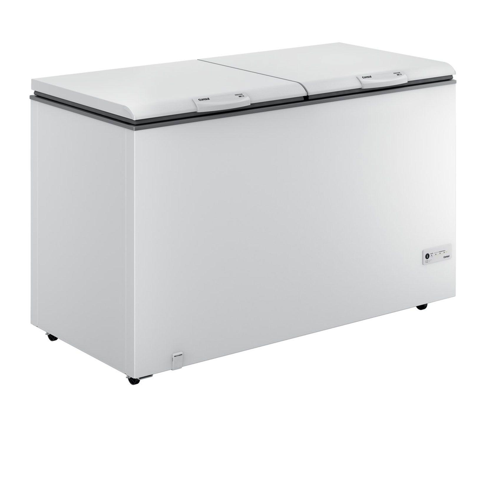 freezer horizontal consul 2 portas 534 l consul