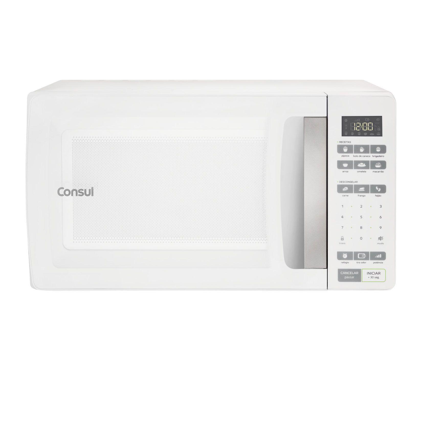 dc2e4db77 Micro-ondas Consul 32 Litros Branco com Função Descongelar